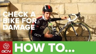 How To Check Your Bike For Damage After A Crash