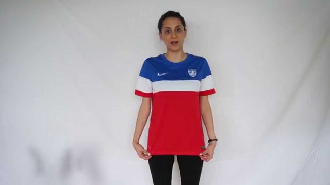 How to Choose a USA Soccer Jersey (Size Fit) - YouTube 3f3f617c02