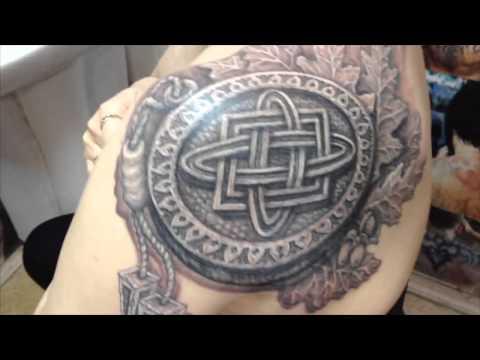 татуировка славянская