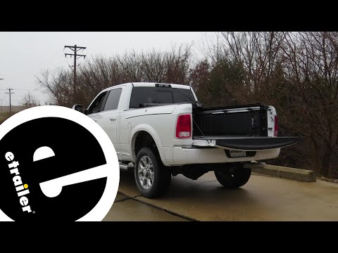 B and W Gooseneck Trailer Hitch Installation - 2017 Ram 2500