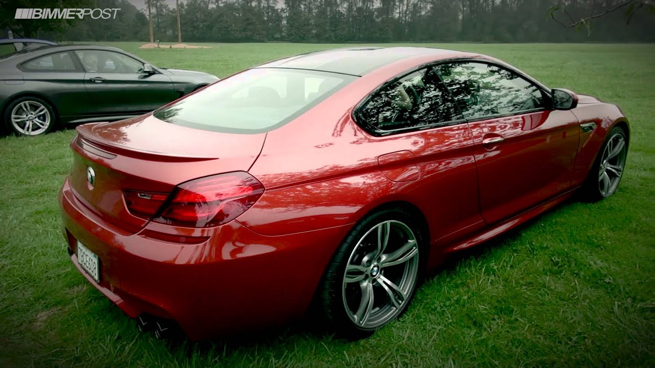 2014 Bmw M6 Coupe With Competition Package And Exhaust