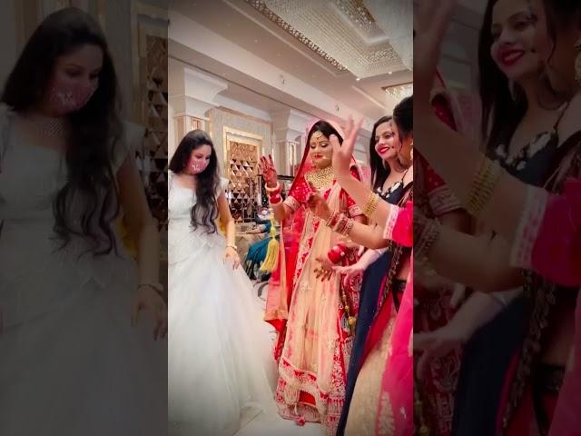 Cutest Bride Entry #shorts