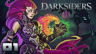 Let's Play Darksiders 3 - PC Gameplay Part 1 - Sassing Deadly Sins