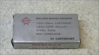 """Norinco """"Silver Box"""" 7.62x39mm Ammo Review"""