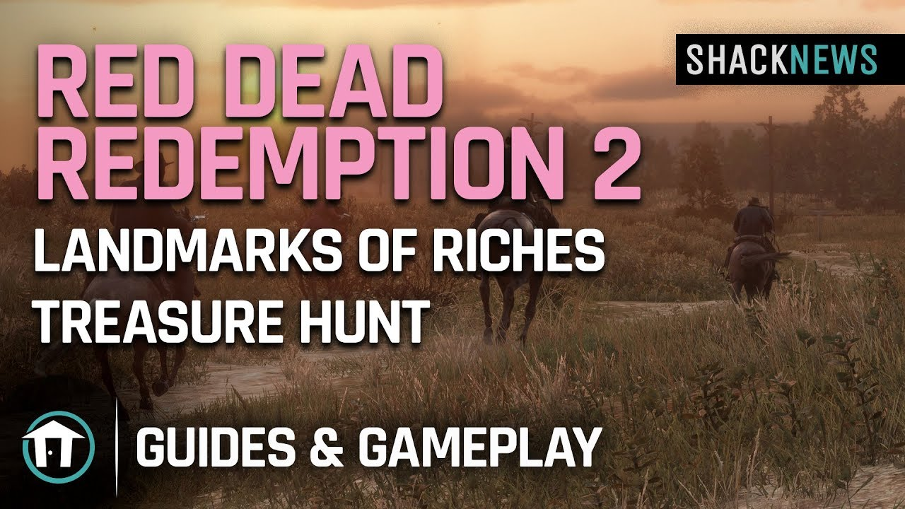 Download Red Dead Redemption 2 - Landmarks of Riches Treasure Hunt