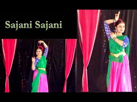 Antara Bhadra   Sajani Sajani Radhika   Rabindranath Tagore   Dance choreography