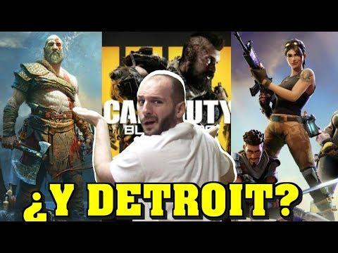 ¡PEOR PUBLICIDAD DE PS4 DE LA HISTORIA! - Sasel - Detroit become hman - exclusivo - sony