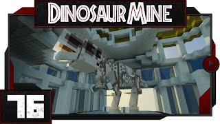 Minecraft - Dinosaur Mine - #76 - T-Rex Skeleton