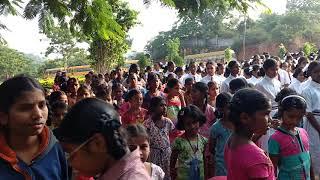 Gurukula girls school assembly