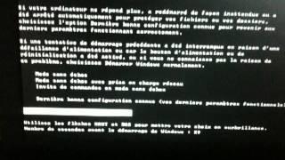 Asus eeePc  bloquer mode restauration [description]