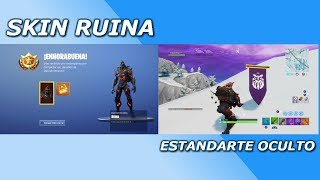 FORTNITE ? WEEK CHALLENGES 8 + SKIN *RUINA* + HIDDEN BANNER ? SEASON 8