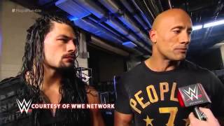 WWE The Rock funny interview