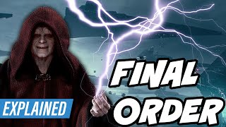 How Palpatine Was Going to Operate the ENTIRE FINAL ORDER FLEET [CANON]