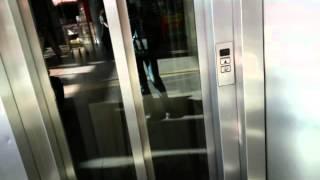 Лифт в магазине Ашан на Марьино