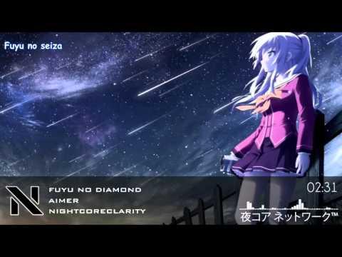 Nightcore   Fuyu no Diamond 「 Aimer 」