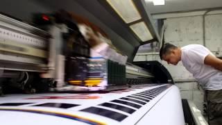 видео срочная печать на баннере московская