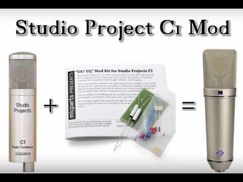 Studio Project C1 mod from microphone-parts.com