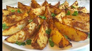 """Картофель """"Пальчики Оближешь"""" / Запеченный Картофель / Baked Potat / Картошка в Духовке"""