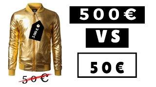 VESTE 500EUR vs VESTE 50EUR SOStyle