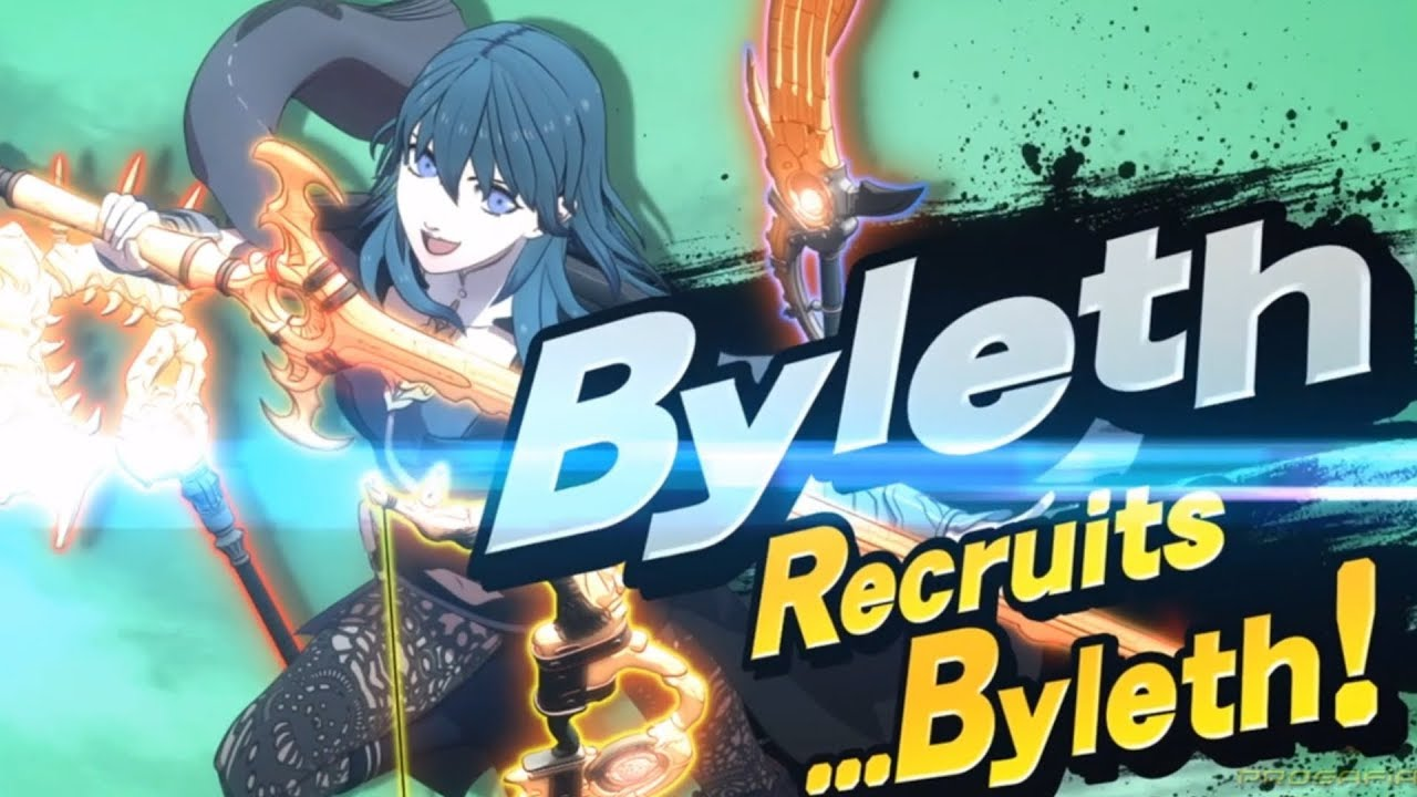 Super Smash Bros Ultimate Byleth Reveal Trailer Nintendo Direct 2020 thumbnail