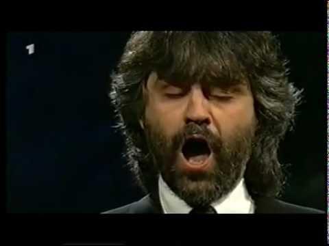 Giuseppe Verdi - Aida : Andrea Bocelli sings Celeste Aida