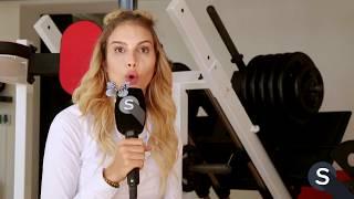 Spotlight - Cindy Landolt zeigt, wie man sich fit hält.