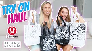 Huge Lululemon Shopping and Try On Haul! Its R Life