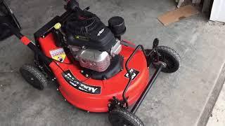 "Bad boy 25"" push mower"