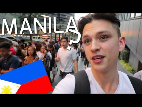 First Impression of the Philippines - Shocked by Manila !