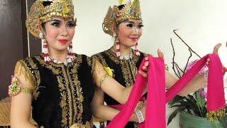 TARI GOLEK - Kostum & Make Up Tari Jawa - Javanese Dance Costume [HD]