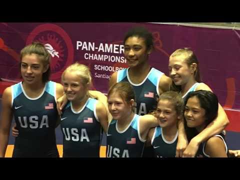 USA Wrestling Pan American Schoolgirls Championships - Santiago, Chile   2017