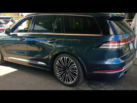 2020 Lincoln Aviator DISAPPOINTMENTS!! interior Exterior Quick look!