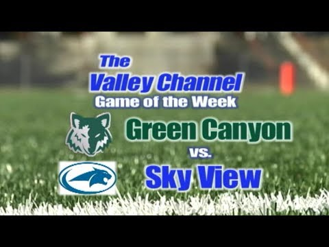Green Canyon High School at Sky View High School Football Game 10-06-17
