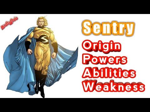 Marvel Sentry Origin Powers Abilities Weakness in Tamil