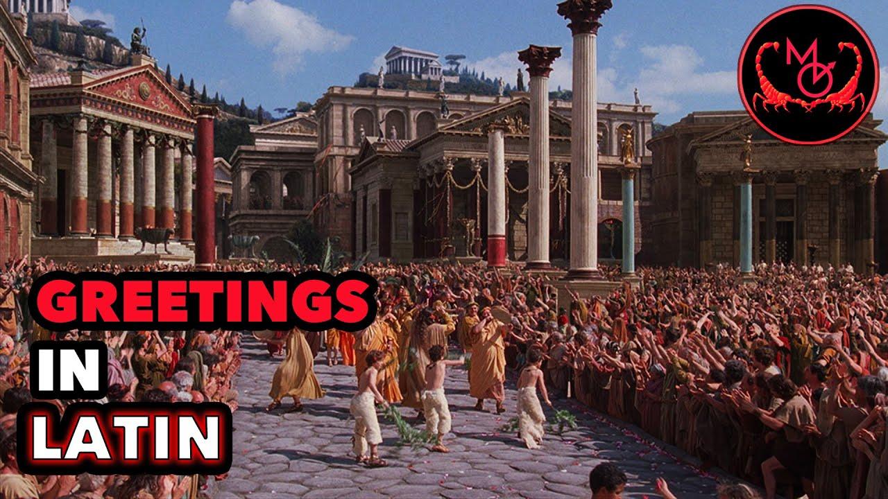 How to speak latin greetings de latine loquendo salutationes how to speak latin greetings de latine loquendo salutationes m4hsunfo