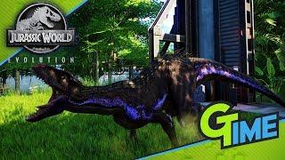 ICH HABE EIN INDORAPTOR AUSGEBRÜTET! - Lets Play Jurassic World Evolution German | Gamerstime