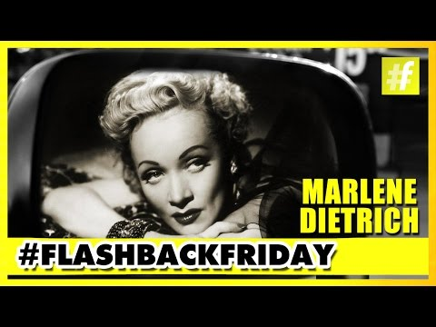 Marlene Dietrich | The Famous German-American Actress & Singer | #FlashbackFriday