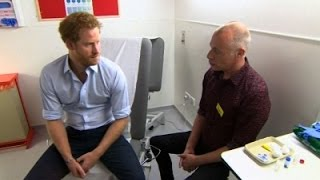 Prince Harry Takes HIV Test; Results Fine