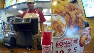 Popeyes Louisiana Kitchen Elmira NY Buying Fried Chicken Thighs