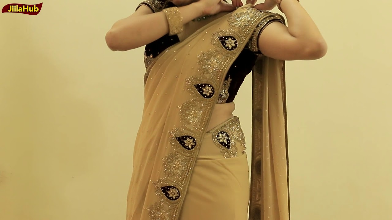Download How To Wear Heavy Saree Perfectly   Party Sari Draping Idea To Look Slim & Tall In Proper Pleats