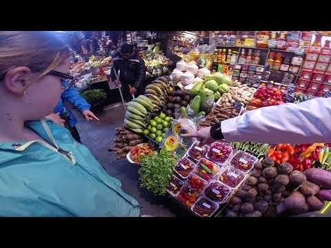 Touring the Barcelona Market near La Rambla