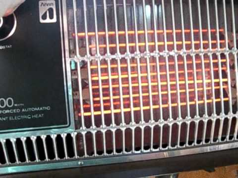 Vintage Arvin Heater Youtube