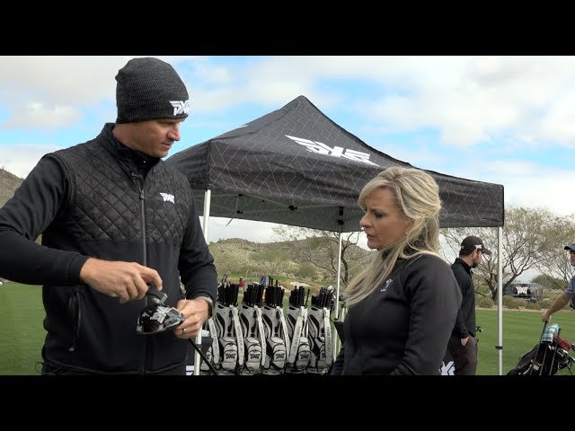 NEW CLUBS! - Amy Gets Fit For New Sticks at PXG Media Experience