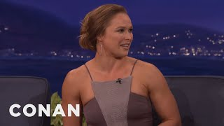 "Ronda Rousey & Vin Diesel Are ""World Of Warcraft"" Buds  - CONAN on TBS"