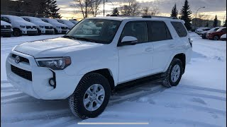 2019 Toyota 4Runner SR5 Upgrade - Review Of Features And Full Walk Around.