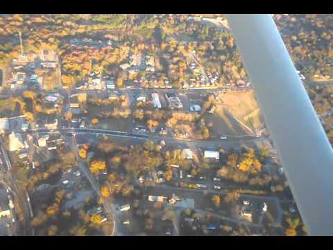 Aerial video from Burn's Ford on Hwy 521 to Carolina Christian Academy