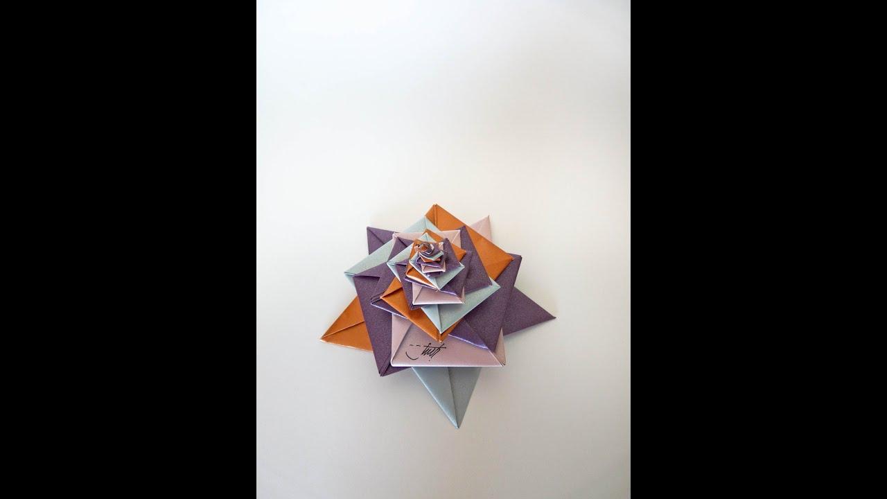 Origami Spiral Tomoko Fuse
