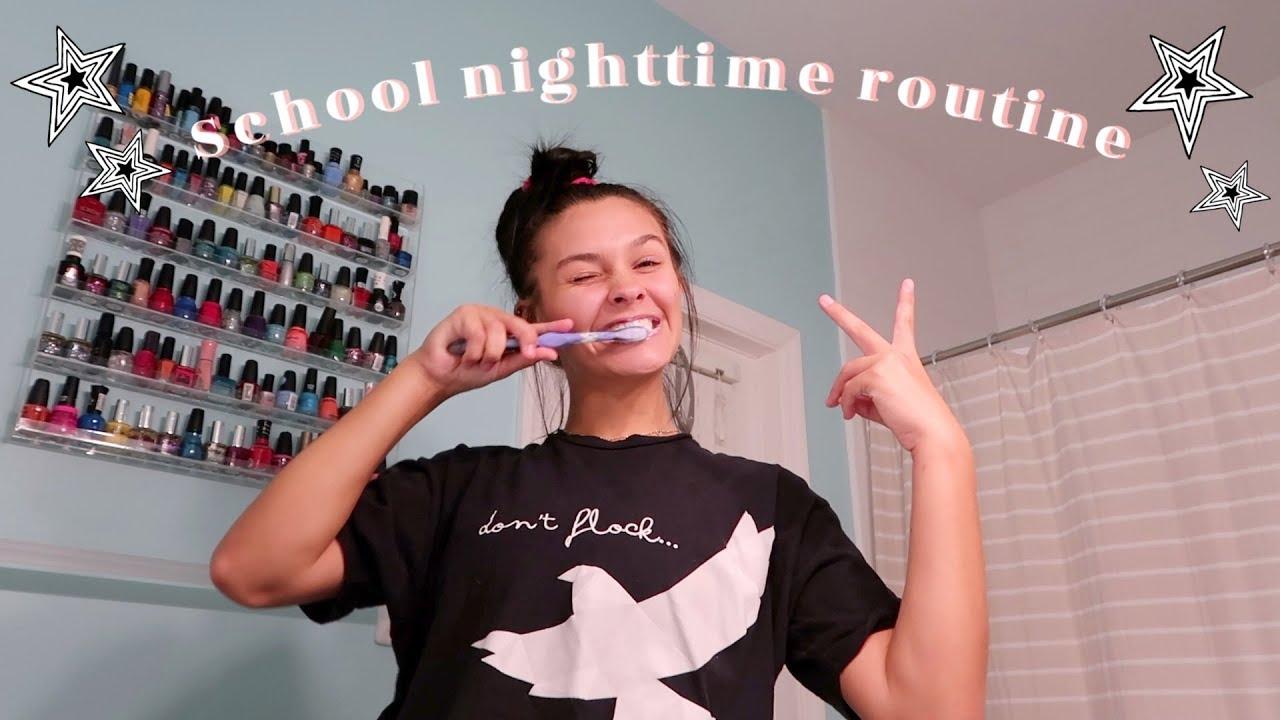 [VIDEO] – My Realistic Sophomore School Night Routine! Emma Marie