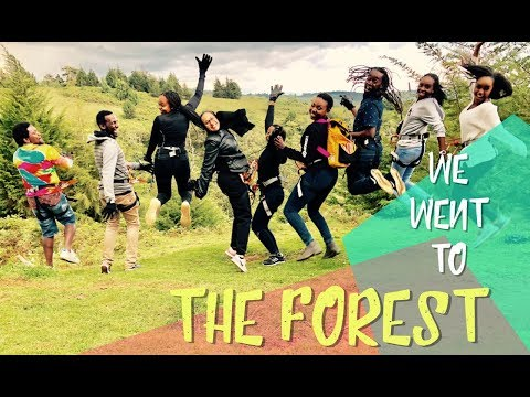 WE WENT TO THE FOREST - Ziplining, Mountain Biking, Archery and A Powerless Car || PATRICIA KIHORO