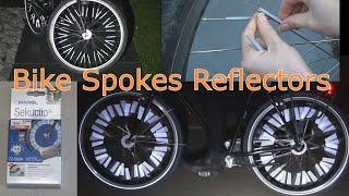Bicycle Spoke Reflectors 3M Scotchlite INSTALLATION & REVIEW Buchel